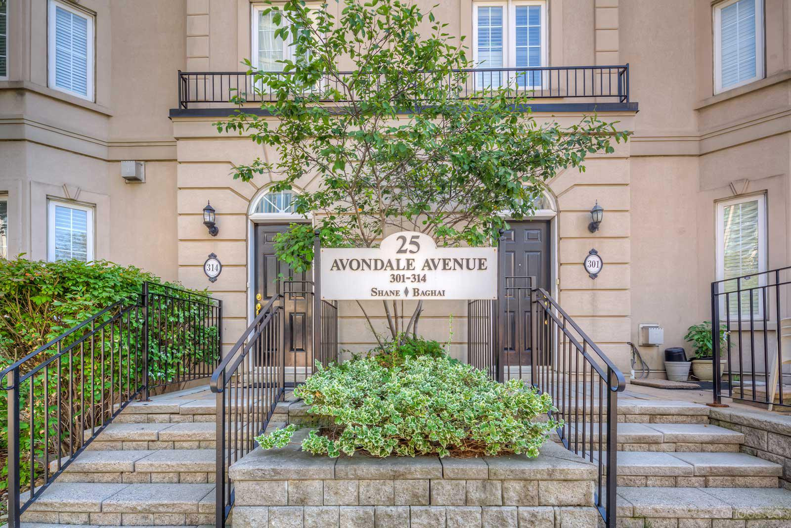 Carriage Homes of Avondale Ⅱ at 25 Avondale Ave, Toronto 1