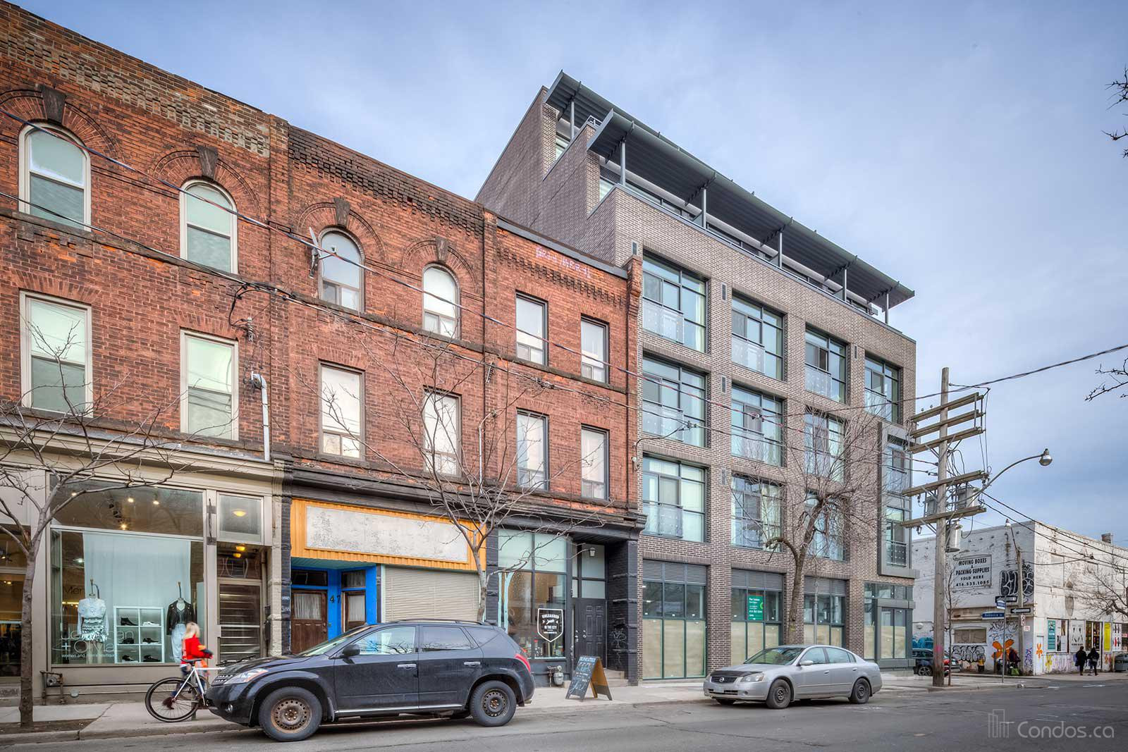 Motif Lofts and Towns at 41 Ossington Ave, Toronto 1