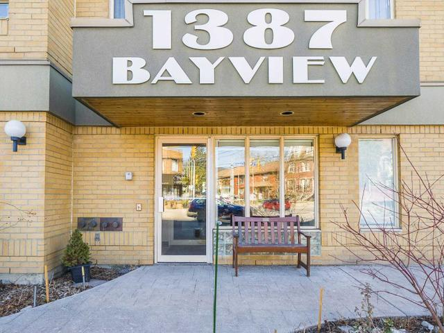206 - 1387 Bayview Ave